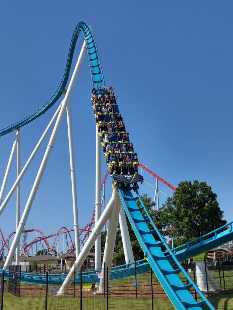 Fury 325 at Carowinds theme park, North and South Carolina, USA